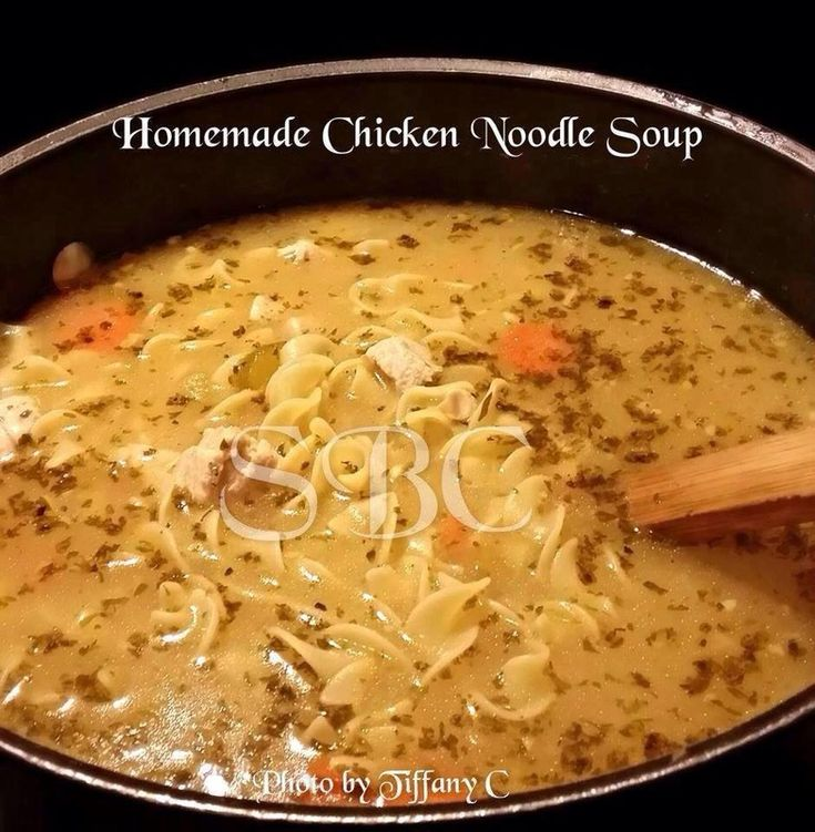 http://healthieronestepatatime.weebly.com/recipes-main-course/homemade-chicken-noodle-sou HOMEMADE CHICKEN NOODLE SOUP Makes 10 servings Ingredients: 4 cups white chicken meat cut into bite size pieces 2 stalks chopped celery 2 tablespoons minced garlic 3 large chopped carrots 1...
