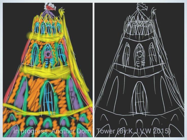 https://flic.kr/p/zroFGg | In Progress: Another Dom Tower  (By:K.J.V.W 2015) | www.flickr.com/photos/116827835@N07/21512867923/in/photos... (Full Color Version)  www.flickr.com/photos/116827835@N07/22133948605/in/photos... (Sketch Version)