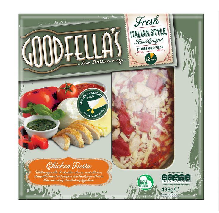 Goodfella's Chilled Pizzas by Mesh Design, Dublin. www.meshdesign.ie