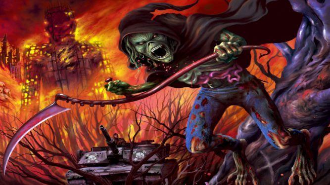 Iron Maiden Bands Groups Entertainment Hard Rock Heavy Metal Eddie Album Art Dark Skulls Covers Wallpaper Iron Maiden Eddie Iron Maiden Band Iron Maiden
