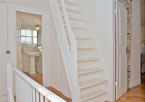 Staircase to Widows Walk NantucketVacationHouses.com