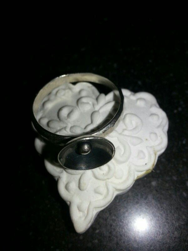 Handmade by Gallegal,  silver ring,  kommetje.