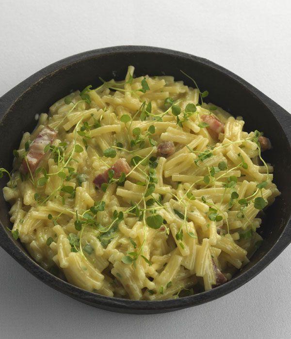 Retro favourite macaroni cheese receives an upgrade, courtesy of legendary chef Paul Heathcote.