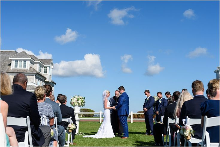 Courtney & Matt's Cape Cod Wedding at Wychmere Beach Club - Suzanna March Photography