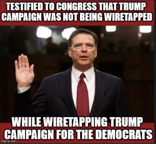He needs to be prosecuted. The head of the FBI Lying to Congress and the American people. Where is the DOJ⁉️