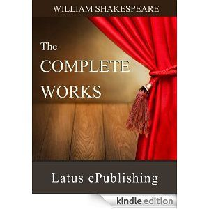 The Complete Works of William Shakespheare!  Only 1.99 today!  What a steal!  #homeschool #kindle #education