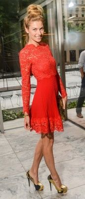 1000  ideas about Red Lace Cocktail Dress on Pinterest | Lace ...