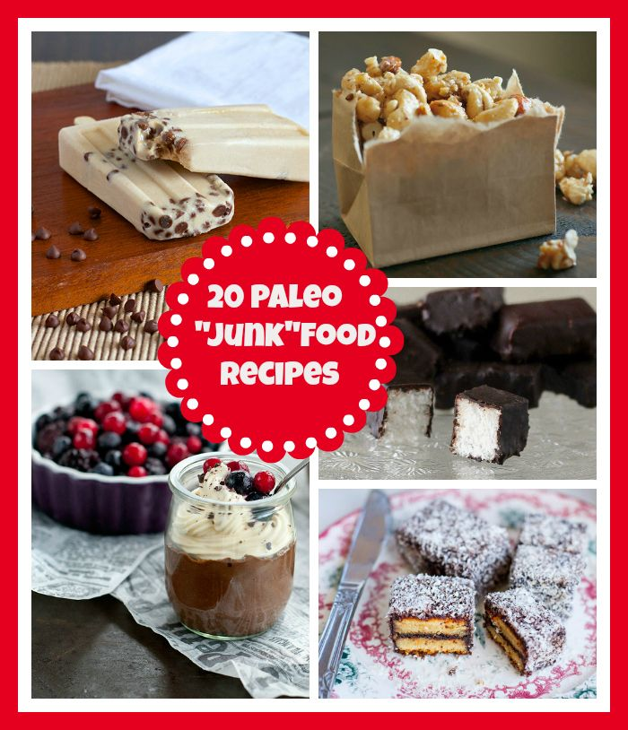 "Get your #paleo ""junk"" food fix with these 20 recipes"