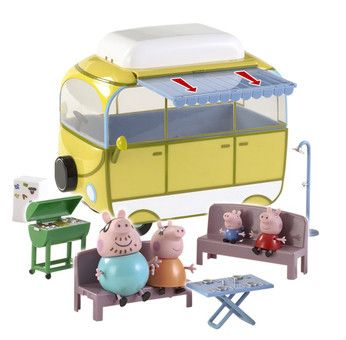 Peppa Pig Camper Van Playset - Toys R Us - Britain's greatest toy store £24.99 all figures included