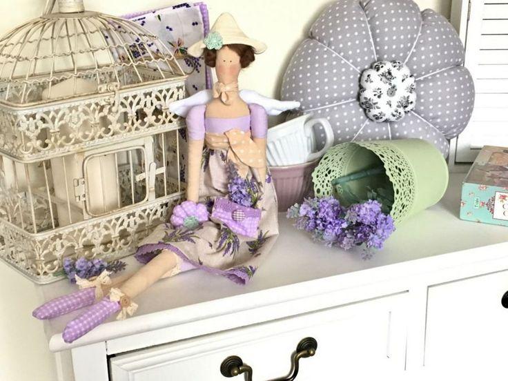 Lalka - lawendowa tilda Tilda doll lavender