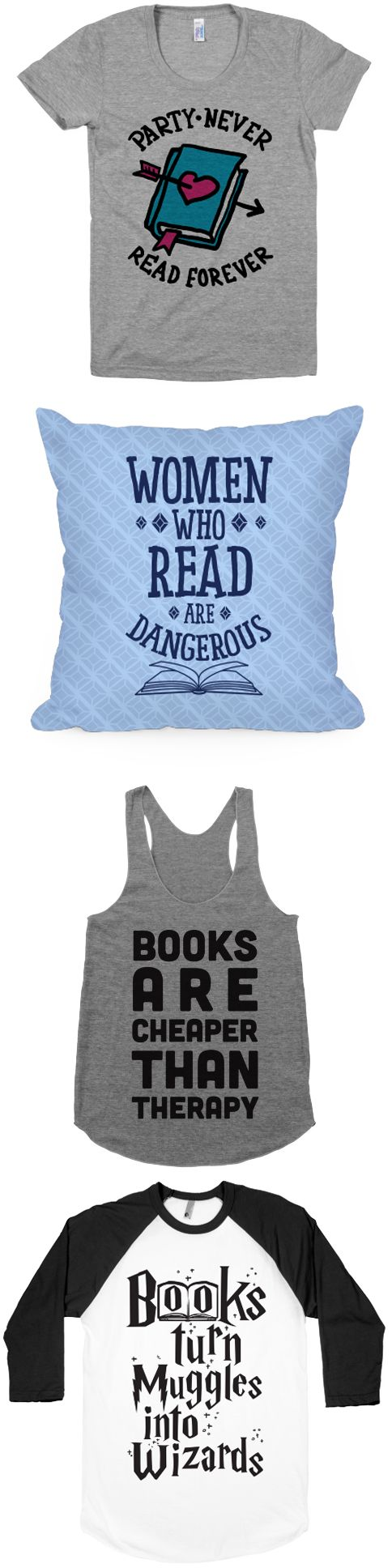 Book nerds have more fun.