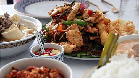 116 best food safari recipes images on pinterest sbs food asian chicken and holy basil stir fry recipe gai pad graprow sbs food forumfinder Image collections