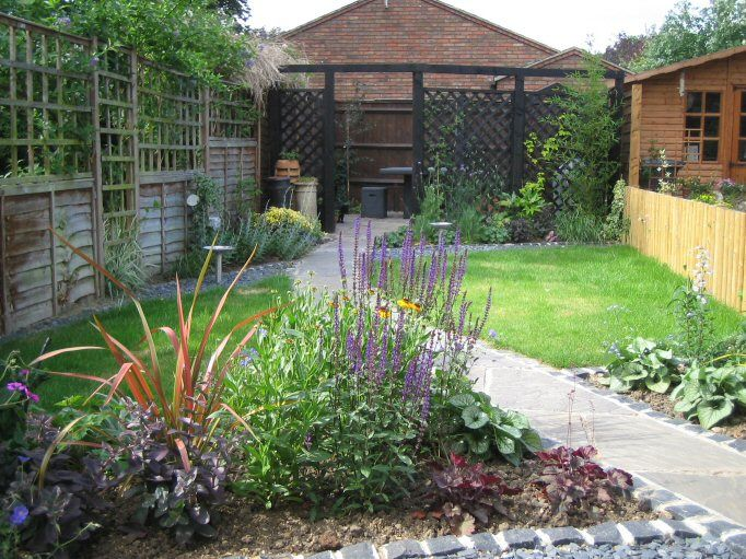 Garden Designs For Long Narrow Gardens Slubne Suknie Info