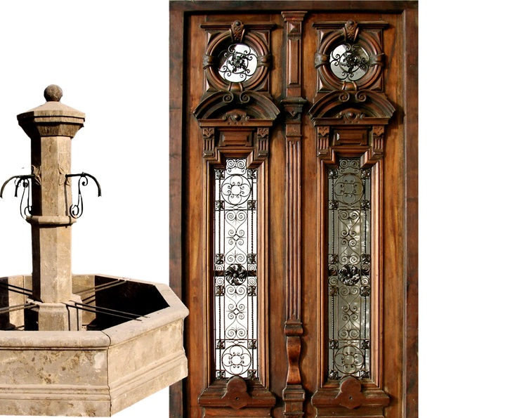 ... architectural antique pieces from various periods and styles imported from Europe dating from late to early available in our Jersey City NJ warehouse.  sc 1 st  Pinterest & 9 best Classic Doors images on Pinterest | Entrance doors Classic ...