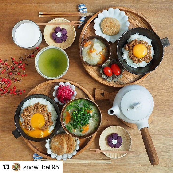 投稿を読んでいると、ほんとにどのメニューも食べたくなる…盛りだくさんの朝ごはん!  あなたの朝ごはんや朝の過ごし方をハッシュタグ「#朝時間」をつけて投稿してください♪すてきな写真は朝時間.jpのInstagramやサイト、アプリでご紹介させていただきます #朝美人アンバサダー #朝時間 #朝ごはん  #Repost @snow_bell95 さんより ・・・ あさごはん ・ ・ 今朝は納豆卵ご飯と豚汁で和食ごはん 白身を先にご飯に混ぜておくのをやってみたらおいしかった✨ 黄身がひとつ崩れてしまったのが無念‼︎ ・ おかずは里芋餅 上新粉を入れてモチモチ感アップ ・ 紫芋のスイートポテトとマシュマロのお花は @kyocotoricolore kyocoさんのマネっこ (。>∀<。)❤︎ マシュマロ細工にかなり苦戦‼︎ またトライしたいと思います♪♪ 2016.1.16