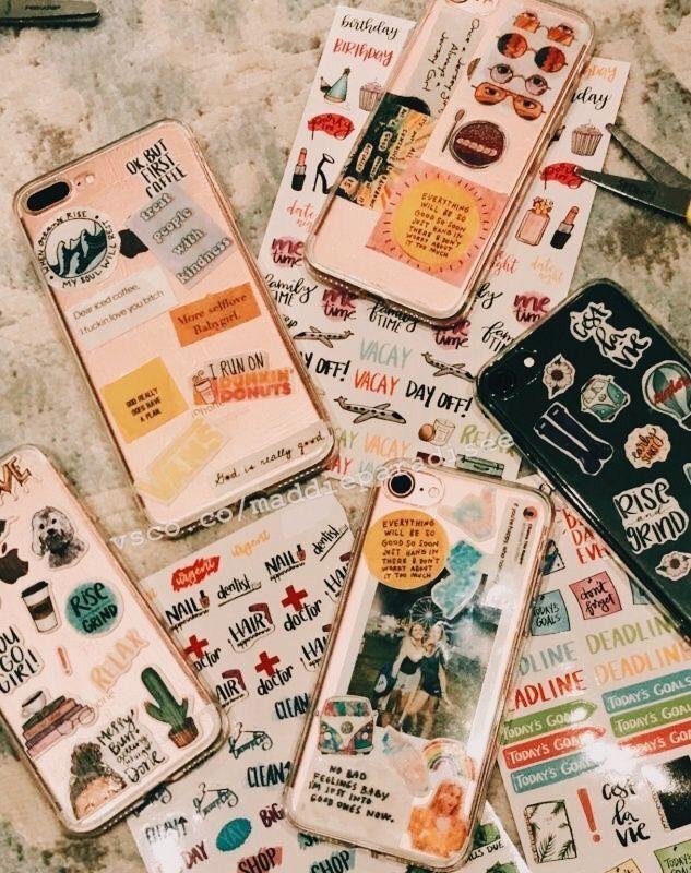 Schöne Capinha para celular Die besten Freundsachen, rosafarbenes Notizbuch, Blumenkrug, List…