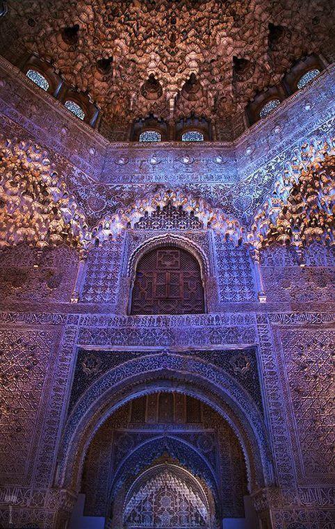 Alhambra,Granada, Spain #places