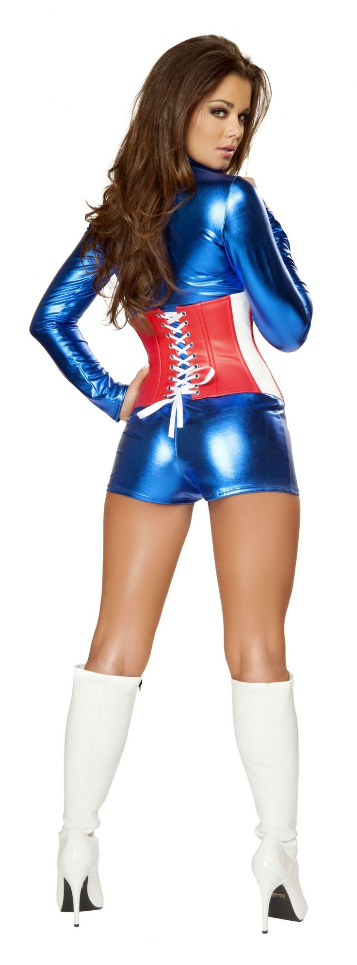 2Pc Sexy All-American Costume  Dessie Mitcheson  Pinterest  Costumes-5346