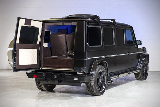 INKAS Armored Mercedes G63 AMG Limo 3