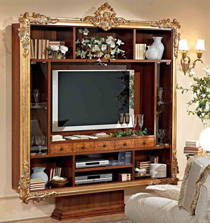 Kaufe auch bei Ebay http://www.ebay.de/itm/Luxus-Wohnzimmer-Set-TV-Wohnwand-Tisch-4Stuhle-Spiegel-Eckvitr-Stilmobel-Italien-/150823888902