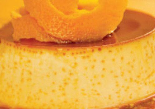 Pudim de Pão e Laranja - http://www.receitasja.com/pudim-de-pao-e-laranja/