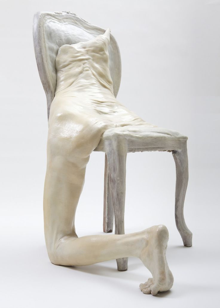 Francesco Albano's human grotesque body sculptures drip, melt, hang, and often appear to be boneless