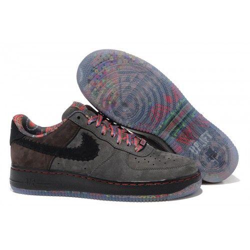Bast Nike Air Force 1 Herr Low Svart Vit Online Skor