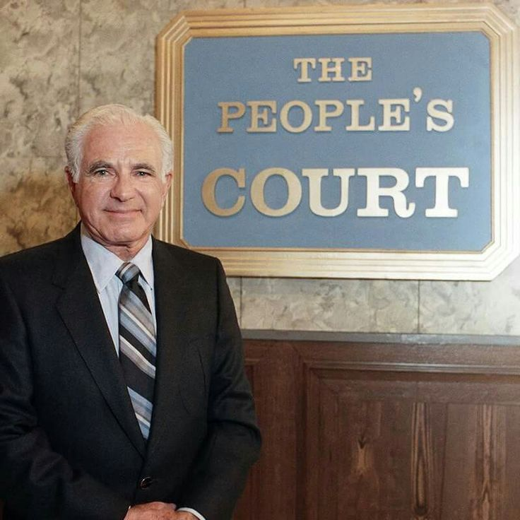 Judge Wapner From The Peoples Court