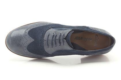 Clarks Hamble Oak, Navy Combi Suede, Womens Casual Shoes