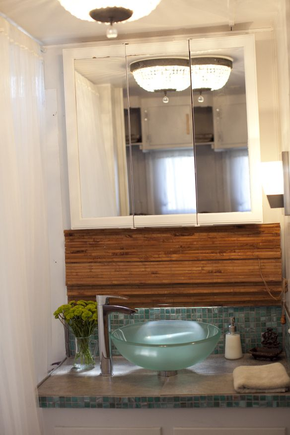 Best For The Home Images On Pinterest Decks Cottage And - Single wide trailer bathroom remodel