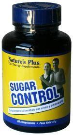 Natures Plus Sugar Control, 60 comprimidos #farmaciaonline #farmaconfianza #vitaminas #natural #azucar #glucosa #diabetes