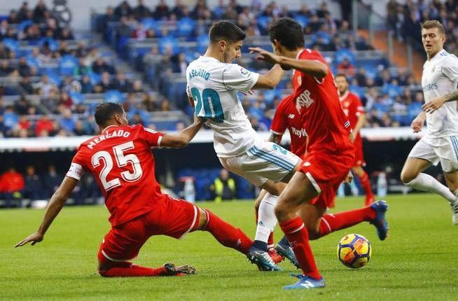 Real Madrid: El Real Madrid se quita los males con un manotazo al depauperado Sevilla. Noticias de Liga
