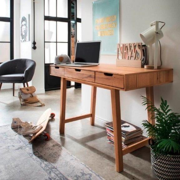 Dieser Schone Sekretar Macht Nicht Nur Eine Gute Figur Im Arbeitszimmer Sondern Ist Auch Im Wohnzimmer Ein Optischer Bli Buroecke Zimmer Home Office Einrichten