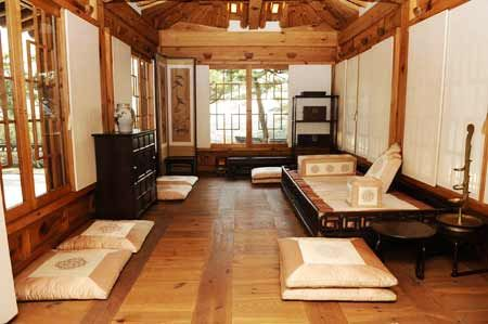 Traditional Korean furniture embraces lifestyles