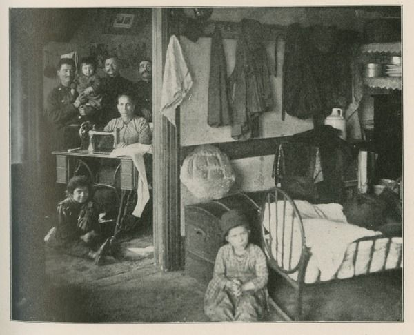 Image of Tenement Interiors in Chicago