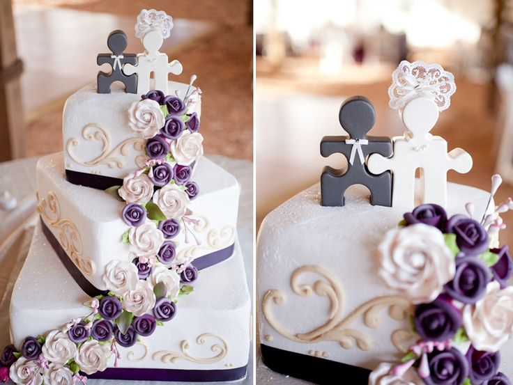 Love this cake - just would change the purple!