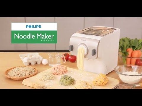 Philips Noodle Maker. make raw noodles easily and quickly.