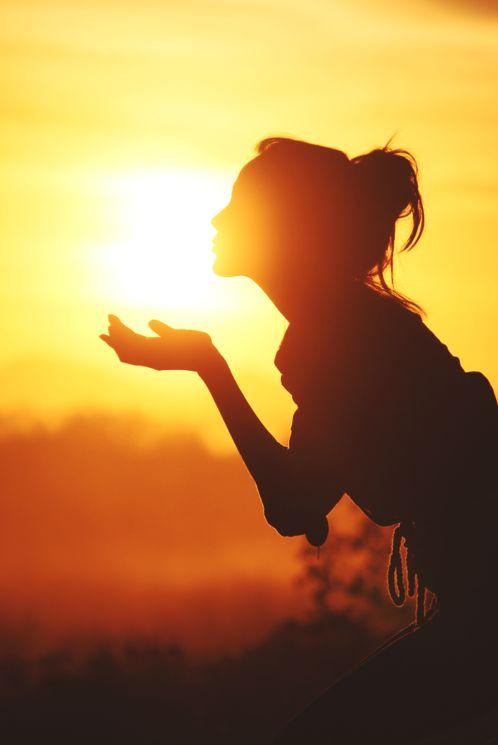 Kiss the sun.