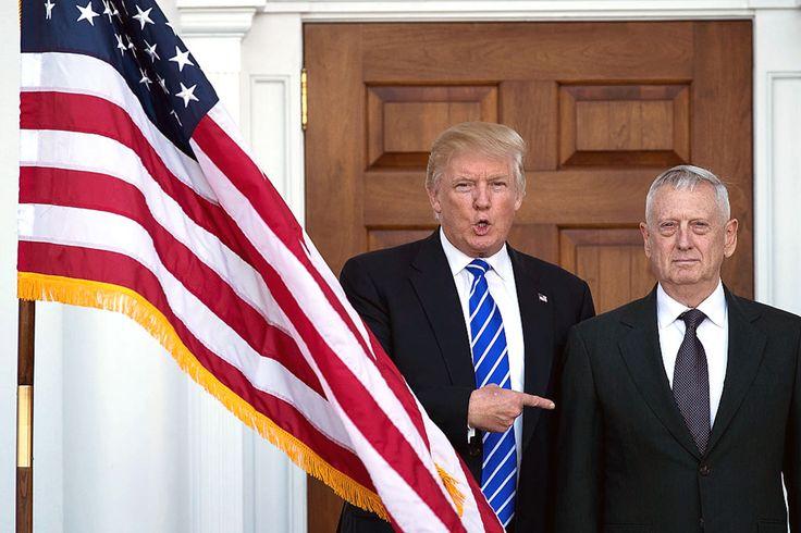 """Mad #Dog"" #Mattis to Lead #Defense?"