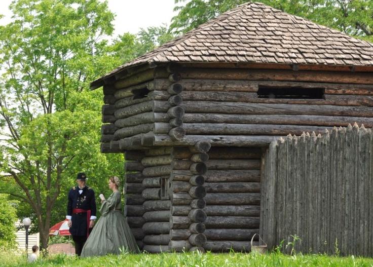 Fort at the Naper Settlement Civil War Days