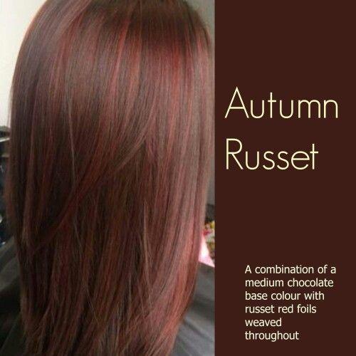 Autumn russet...brunette