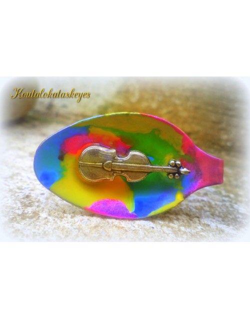 Δαχτυλίδι βιολί