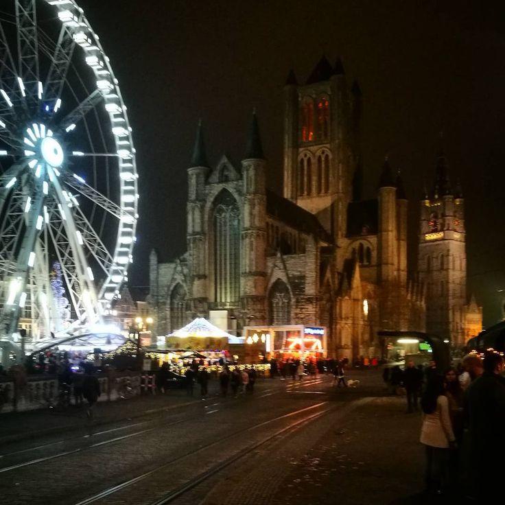 DE GENTSE WINTERFEESTEN #visitgent gent ghent winter feesten kerstmarkt kerst travel