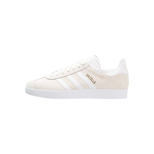 adidas Originals GAZELLE Sneaker low offwhite/white/gold metallic