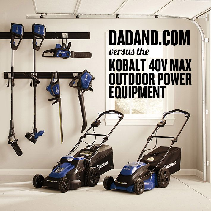 Kobalt 40V Max Electric Outdoor Power Equipment. We test it and review it.