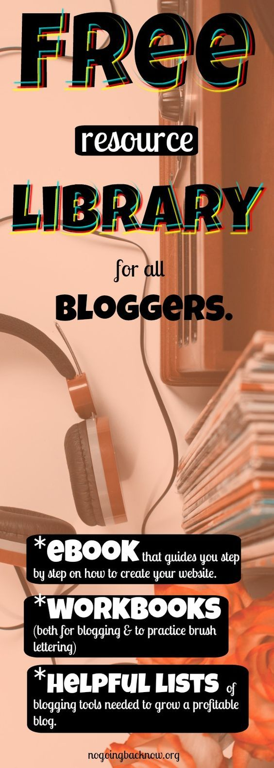 This resource library is for bloggers of all niches. Ebook, workbooks, stock photo sources, graphic design sources, Pinterest Group board list, and so much more. #makemoneyonline #beyourownboss #wahm