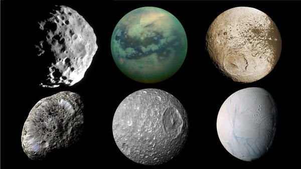 Best 25+ Saturns moons ideas on Pinterest | What color is ...