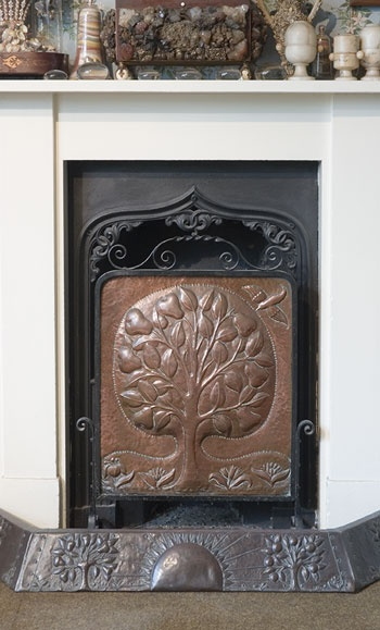 Fireplace- Arts & Crafts Home