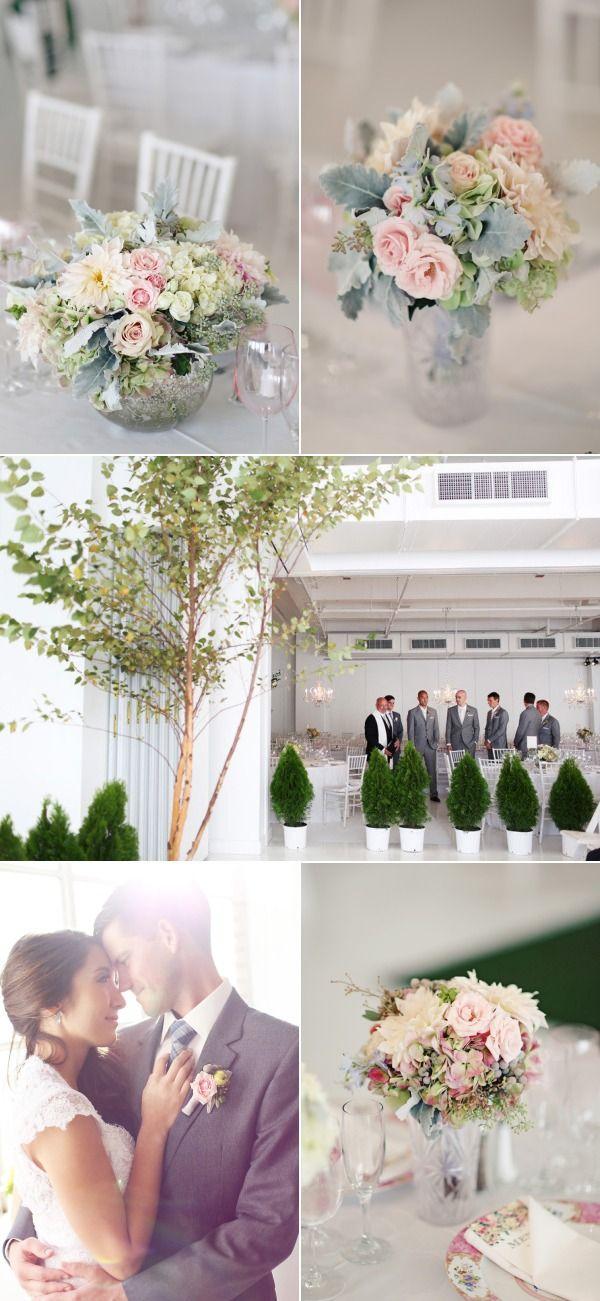 NYC Indoor Garden Wedding from Angelica Glass | The Wedding Story