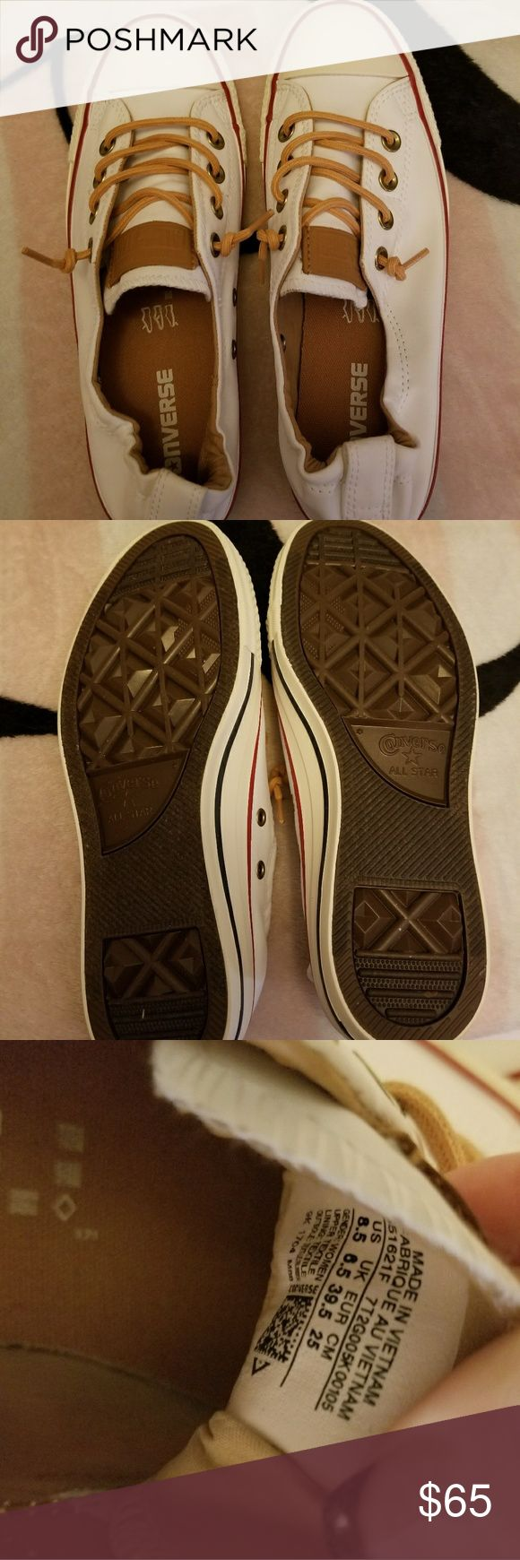 BRAND NEW Converse Slip-On Shoes BRAND NEW, NEVER WORN Converse Slip-On Shoes in absolute perfect, MINT condition!! They are size 8.5, and they are way too big on me!! I want to make AT LEAST close to what I paid for them, so NO LOW BALLING please!!!!!! Converse Shoes Sneakers